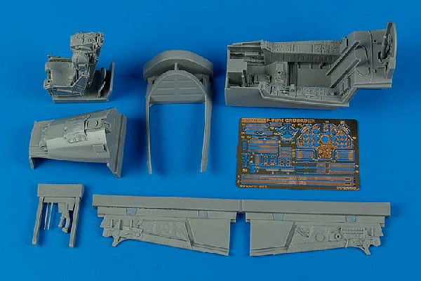 Aires Hobby Details 1/32 F8E/H Cockpit Set For TSM