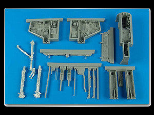 Aires Hobby Details 1/32 A4E/F Wheel Bay & Gun Bay For TSM