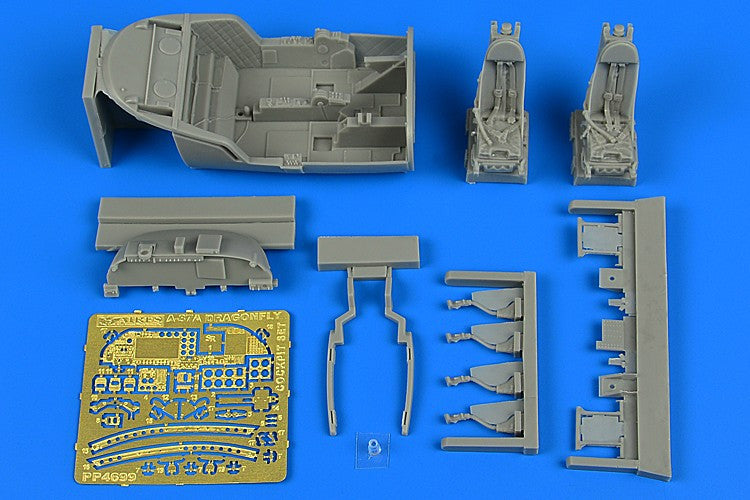 Aires Hobby Details 1/48 A37A Dragonfly Cockpit Set For TSM