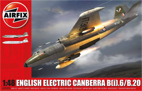 Airfix Aircraft 1/48 English Electric Canberra B(i)6/B20 Bomber Kit