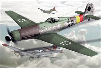 Art Model Aircraft 1/72 TA152/H1 German Interceptor Aircraft Kit
