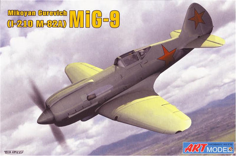 Art Model Aircraft 1/72 MiG9 (I210/m82A) Soviet Fighter Kit