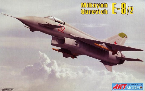 Art Model Aircraft 1/72 Mikoyan E8/2 Experimental Fighter Kit