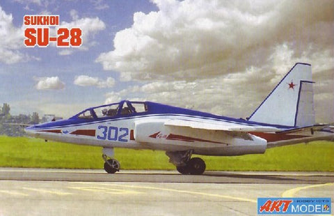 Art Model Aircraft 1/72 Su28 Trainer Aircraft Kit