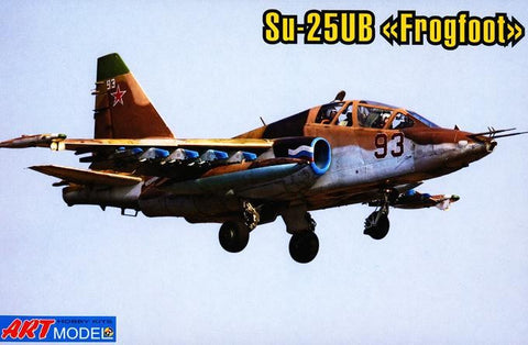 Art Model Aircraft 1/72 Su25UB Frogfoot Aircraft Kit