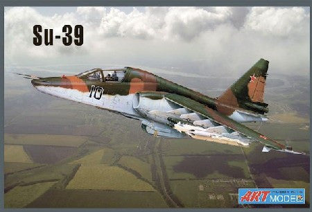 Art Model Aircraft 1/72 Sukhoi Su39 Russian/Soviet Anti-Attack Aircraft Kit