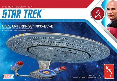 AMT Sci-Fi 1/2500 Star Trek The Next Generation USS Enterprise NCC1701D Kit