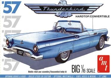 AMT Model Cars 1/16 1957 Ford Thunderbird Hardtop/Convertible Kit