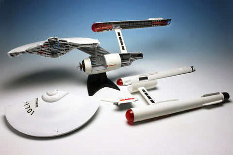 AMT Sci-Fi Models 1/537 Star Trek USS Enterprise NCC1701 Cutaway Kit