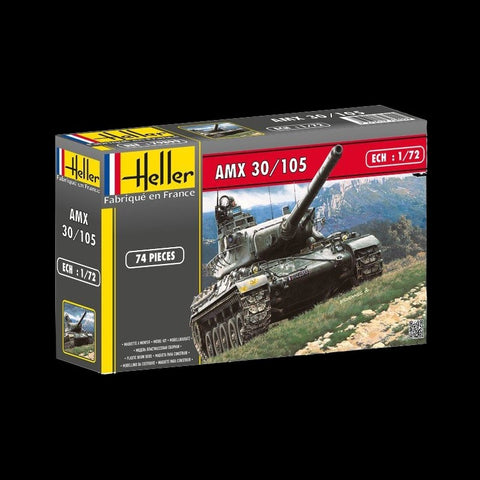 Heller Military 1/72 AMX 30/105 French Tank Kit