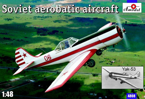 A Model From Russia 1/48 Yak53 Soviet Aerobatic Aircraft Kit