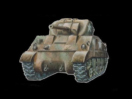 Armourfast Military 1/72 Sherman M4 Tank (2) Kit