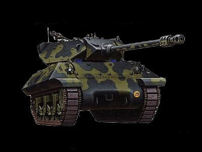 Armourfast Military 1/72 Achilles Tank Destroyer (2) Kit