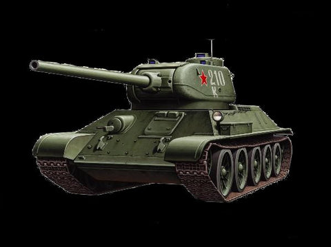 Armourfast Military 1/72 Russian T34/85 Tank (2) Kit