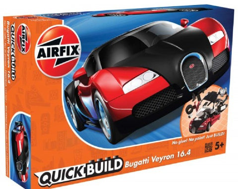 Airfix Car Models Quick Build Bugatti Veyron 16.4 Car Kit