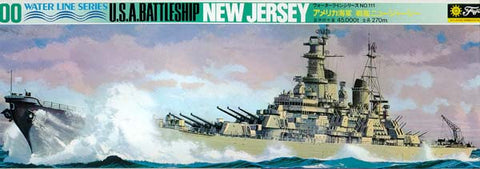 Fujimi Model Ships 1/700 Battleship New Jersey Waterline Kit