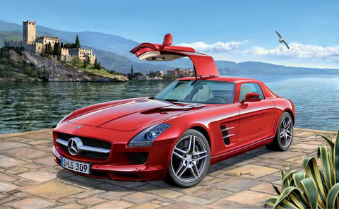 Revell Germany Cars 1/24 Mercedes Benz SLS AMG Car Kit