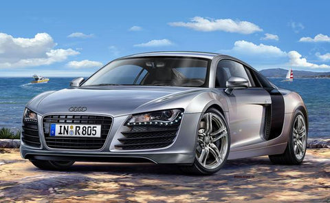Revell Germany Model Cars 1/24 Audi R8 Car Kit