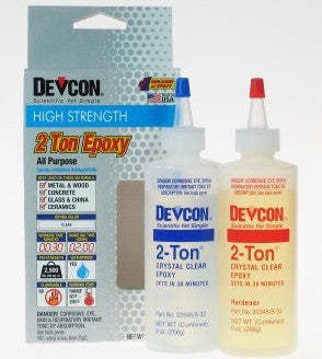 Devcon 30-Minute Epoxy 9oz.Bottle