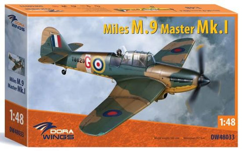 Dora Wings 1/48 Miles M9A Master Mk I Aircraft Kit