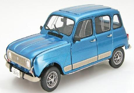 Ebbro Model Cars 1/24 Renault 4GTL Compact 4-Door Car Kit