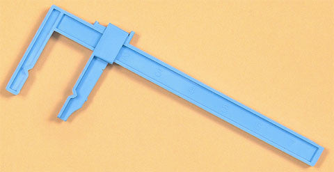 "Excel Tools 7.5"" Large Adjustable Plastic Clamp (2)"