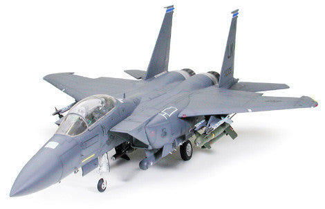 Tamiya Aircraft 1/32 F15E Strike Eagle Aircraft w/Bunker Buster Kit