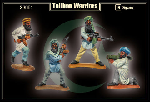 Mars Military 1/32 Taliban Warriors (16) Kit