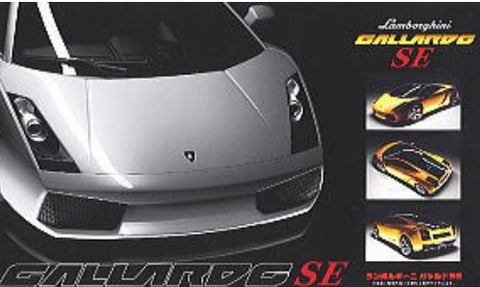Fujimi Car Models 1/24 Lamborghini Gallardo Special Edition Sports Car  (Molded In Yellow