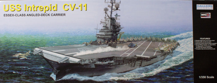 gallery model ships 1  350 uss intrepid cv 11 kit