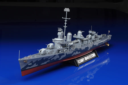 Tamiya Model Ships 1/350 USS Fletcher DD445 Destroyer Kit