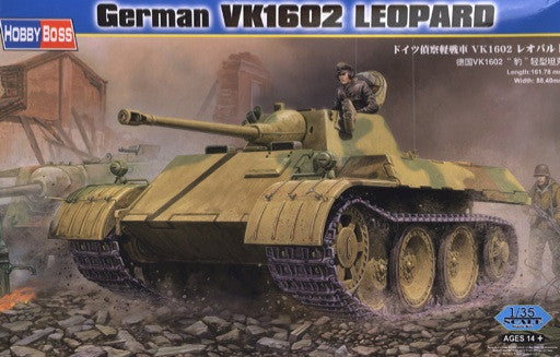 Hobby Boss Military 1/35 German VK1602 Leopold Kit
