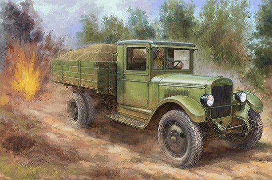 Hobby Boss Military 1/35 Russian ZIS-5 Truck Kit