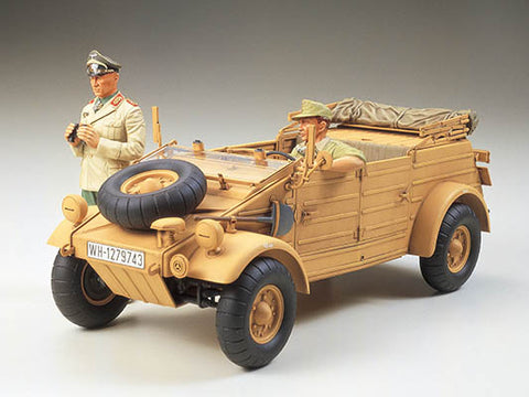 Tamiya Military 1/16 German Kubelwagen Type 82 Africa Corps Kit