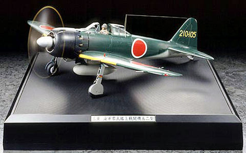 Tamiya Aircraft 1/32 Mitsubishi A6M5 Zero Fighter w/LED Lighting & Sound (Ltd Re-Release Edition) Kit