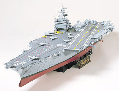 Tamiya Model Ships 1/350 USS Enterprise Aircraft Carrier Kit