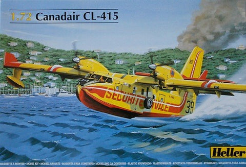 Heller Aircraft 1/72 Canadair CL415 Seaplane Kit