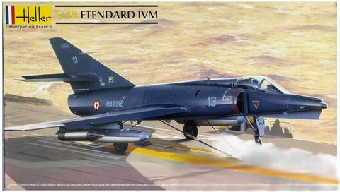 Heller Aircraft 1/48 Etendard IV M Fighter Kit
