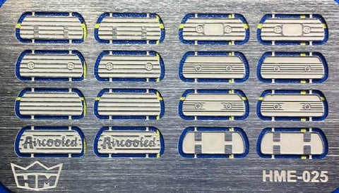 Highlight Model Studio 1/24-1/25 VW Valve Cover Set (16) for TAM
