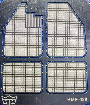 Highlight Model Studio 1/24-1/25 VW Beetle Floor Mat Set for TAM