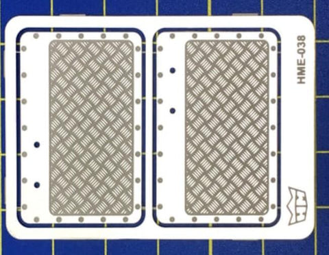Highlight Model Studio 1/24-1/25 VW Beetle Interior Aluminum Door Panels for TAM