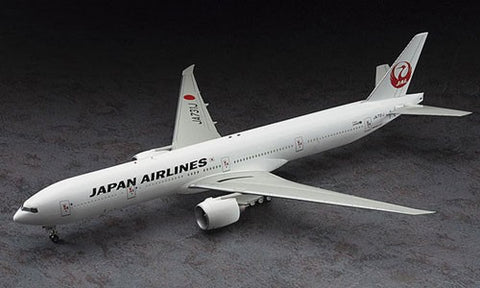Hasegawa Aircraft 1/200 B777-300ER JAL Commercial Japan Airliner Kit
