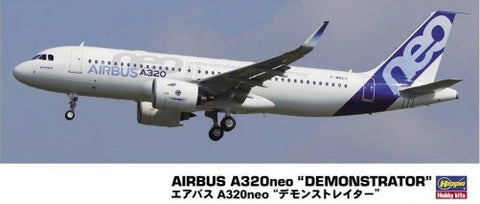 Hasegawa Aircraft 1/200 Airbus A320ne Demonstrator Commercial Airliner Kit