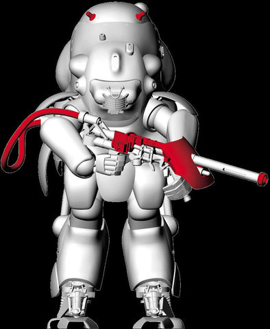 Hasegawa Space & Sci-Fi 1/20 Maschinen Krieger Moon Type MK44H Prototype Limited Edition Kit