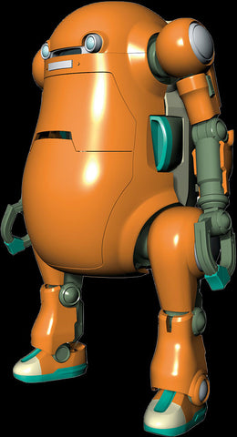 Hasegawa Space & Sci-Fi 1/20 Mechatro WeGo Robot No.2 Orange Kit