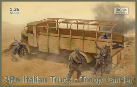 IBG Military 1/35 3Ro Italian Truck Troop Carrier (New Tool) Kit