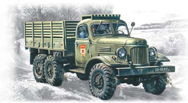 1ICM Military Models 1/72 Soviet ZIL157 Army Truck Kit