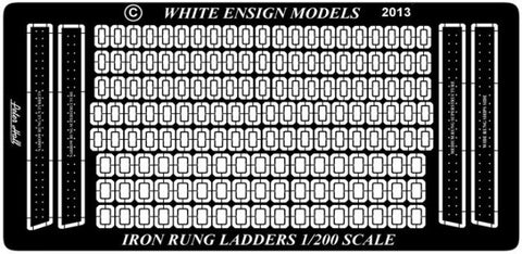 White Ensign Details 1/200 Generic Ladder Rungs Detail Set