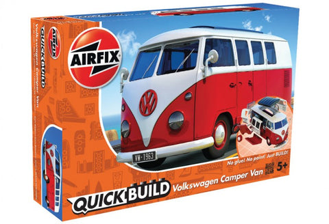 Airfix Car Models Quick Build Volkswagen Camper Bus (Snap Kit)