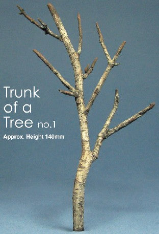 "Js Work 5.5"" Tree Trunk (Unpainted Resin)"